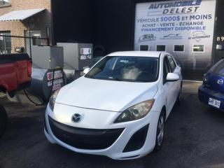 Used 2010 Mazda MAZDA3 4dr HB Sport GX for sale in Longueuil, QC