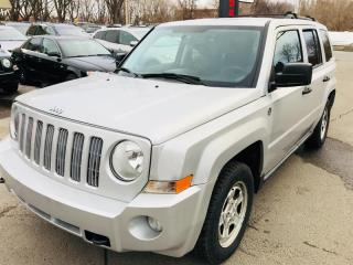 Used 2007 Jeep Patriot 4WD-Sport-Trail Rated-Air-Mags for sale in Laval, QC
