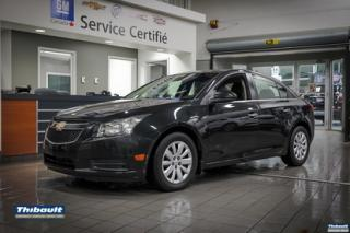 Used 2011 Chevrolet Cruze 4dr Sdn LT Turbo w-1SA for sale in Sherbrooke, QC