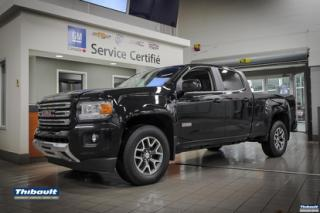 Used 2017 GMC Canyon 4WD Crew Cab 140.5  SLE for sale in Sherbrooke, QC