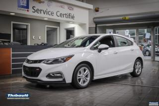 Used 2017 Chevrolet Cruze 4dr HB 1.4L LT w-1SC for sale in Sherbrooke, QC