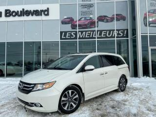 Used 2016 Honda Odyssey Touring for sale in St-Hyacinthe, QC