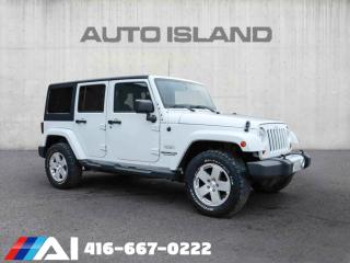 Used 2012 Jeep Wrangler Unlimited 4WD 4DOOR HARD TOP AND SOFT TOPBLUETOOTH for sale in North York, ON