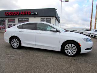 Used 2015 Chrysler 200 LX AUTO BLUETOOTH NO ACCIDENT CERTIFIED for sale in Milton, ON
