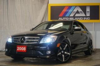 Used 2008 Mercedes-Benz C-Class 3.0L 4MATIC,Navi,Bluetooth for sale in North York, ON