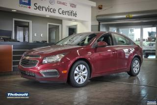 Used 2015 Chevrolet Cruze 2015 Chevrolet Cruze - 4dr Sdn 1LT for sale in Sherbrooke, QC