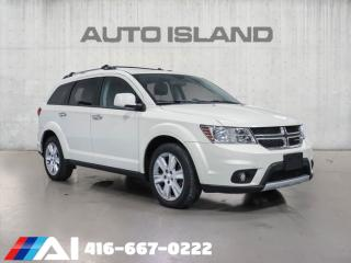 Used 2014 Dodge Journey R/T  7Passenger  AWD Camera Bluetooth Leather Sunroof Chrome for sale in North York, ON