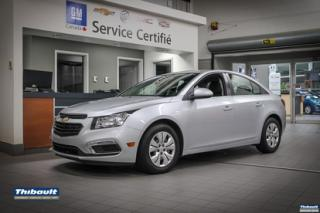 Used 2016 Chevrolet Cruze 2016 Chevrolet Cruze - 4dr Sdn LT w-1LT for sale in Sherbrooke, QC