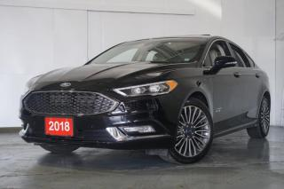 Used 2018 Ford Fusion Energy Platinum Navi Camera Bluetooth Leather Sunroof for sale in North York, ON