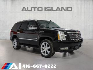 Used 2011 Cadillac Escalade AWD NAVIGATION BACK UP CAMERA LEATHER for sale in North York, ON