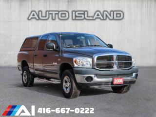 Used 2008 Dodge Ram 1500 4WD Quad Cab,4DOOR,6 PASNGR,SAFETY INCL,NORTH YORK for sale in North York, ON