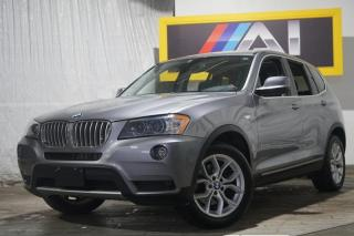 Used 2011 BMW X3 Navi Bluetooth  Pano Sunroof  AWD 28i for sale in North York, ON