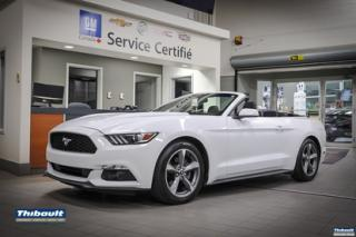 Used 2016 Ford Mustang 2016 Ford Mustang - 2dr Conv V6 for sale in Sherbrooke, QC