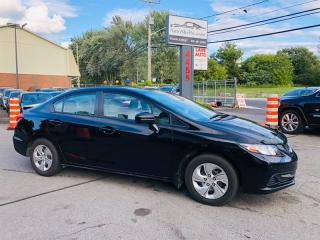 Used 2014 Honda Civic Air-Bluetooth-Siége Chauffant-Groupe Electrique for sale in Laval, QC