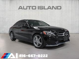 Used 2016 Mercedes-Benz C-Class 4dr Sdn C300 4MATIC,AMG PKG,CAM,NAV,BLUETH, for sale in North York, ON