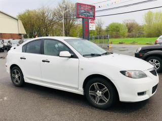 Used 2008 Mazda MAZDA3 Mags-Blanc-Tres Economique for sale in Laval, QC
