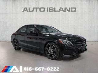 Used 2016 Mercedes-Benz C-Class AMG B.SPOT NAVI 360CAM BURMESTER  ASSISSTE PKG for sale in North York, ON