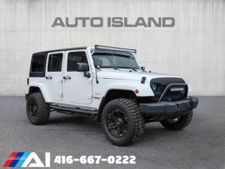 Used 2013 Jeep Wrangler Unlimited FULLY CUSTOME UPGRADE SUSPENSION BRAND NEW OFF-ROAD TIRE BRA for sale in North York, ON