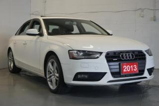 Used 2013 Audi A4 Premium Navi Bluetooth Sunroof Leather AWD for sale in North York, ON