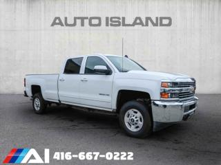 Used 2018 Chevrolet Silverado 2500 HD 4WD Crew Cab LT BACK UP CAMERA BLUETOOTH for sale in North York, ON