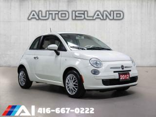 Used 2012 Fiat 500 2dr Cpe Pop,LOW KM,NORTH-YORK for sale in North York, ON