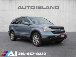 Used 2008 Honda CR-V 4WD 5dr EX-L LEATHER ROOF AWD NORTH YORK for sale in North York, ON