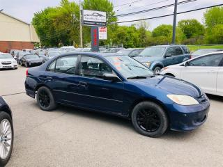 Used 2004 Honda Civic SE-Manual-Mags-Sieges Cuir for sale in Laval, QC