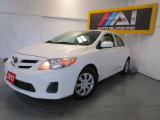 Used 2013 Toyota Corolla 4dr Sdn USB BLUET NORTH-YORK for sale in North York, ON