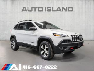 Used 2015 Jeep Cherokee 4WD TRAILHAWK NAVIGATION BACK UP CAMERA for sale in North York, ON