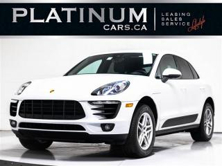 Used 2017 Porsche Macan S, SPORT CHRONO,NAV, LANE CHANGE ASST, NAV, CAM for sale in Toronto, ON