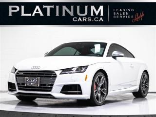 Used 2017 Audi TTS 2.0T quattro, AWD, NAV, Heated SEATS, Clean Carfax TTS for sale in Toronto, ON