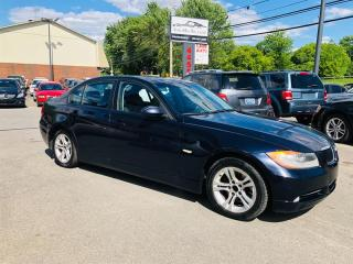 Used 2008 BMW 3 Series AWD-Auto-Air-Cuir-Toit-Mags--Jamais Accidentée for sale in Laval, QC