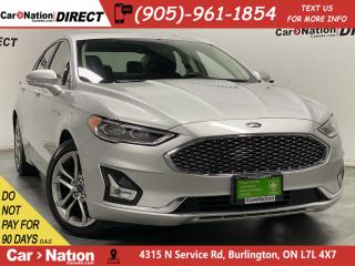 Used 2019 Ford Fusion Hybrid Titanium| NAVI| LEATHER| SUNROOF| for sale in Burlington, ON