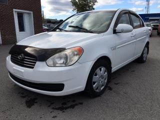 Used 2007 Hyundai Accent Berline 4 portes, boîte automatique, GL for sale in Terrebonne, QC