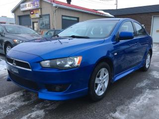 Used 2010 Mitsubishi Lancer Berline 4 portes CVT SE for sale in Terrebonne, QC