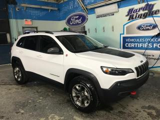 Used 2019 Jeep Cherokee Trailhawk 4X4 for sale in Val-D'or, QC