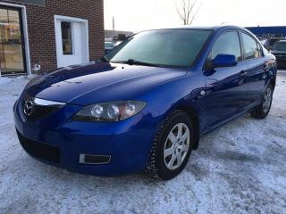 Used 2007 Mazda MAZDA3 Berline 4 portes, boîte manuelle, GX for sale in Terrebonne, QC