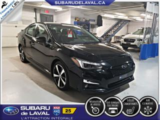 Used 2017 Subaru Impreza Cuir,Toit,Nav for sale in Laval, QC