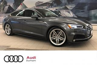 Used 2018 Audi A5 2.0T Technik + S-Line | Loaded! | CarPlay for sale in Whitby, ON
