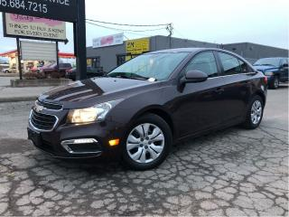 Used 2015 Chevrolet Cruze 1LT | Auto | B/Up Cam | Bluetooth | Wifi Hotspot for sale in St Catharines, ON