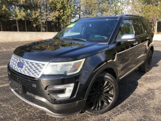 Used 2017 Ford EXPLORER PLATINUM AWD for sale in Cayuga, ON