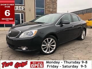 Used 2015 Buick Verano Leather | Navigation | Sunroof | Htd S /Wheel for sale in St Catharines, ON