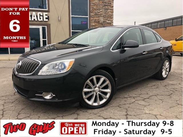 2015 Buick Verano Leather | Navigation | Sunroof | Htd S /Wheel