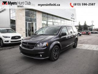 Used 2018 Dodge Grand Caravan GT  - Leather Seats for sale in Ottawa, ON