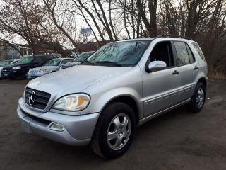 Used 2003 Mercedes-Benz ML 350 Mechanic/Shipper special,AS IS for sale in Oshawa, ON