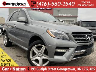 Used 2015 Mercedes-Benz ML-Class ML 350 4MATIC BlueTEC|NAVI | ROOF|360 CAM|HK SOUND for sale in Georgetown, ON