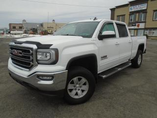 Used 2017 GMC Sierra 1500 4 RM, Cabine multiplaces 143,5 po, SLE for sale in Mirabel, QC