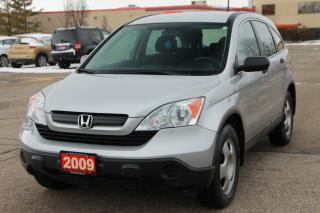 Used 2009 Honda CR-V LX Brand NEW Brakes | 4WD | CERTIFIED for sale in Waterloo, ON