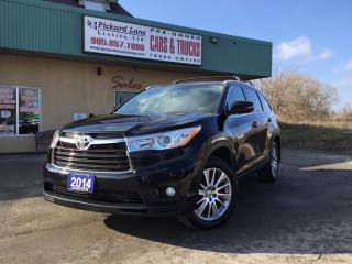 Used 2014 Toyota Highlander XLE for sale in Bolton, ON