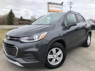 Used 2017 Chevrolet Trax LT Nice with BackupCam and AutoStart! Bluetooth, CarPlay, Pwr Windows, Cruise, Keyless Entry and Alloys for sale in Kemptville, ON